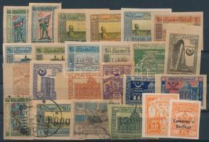 Kis azerbajdzsáni tétel: 24 klf bélyeg
