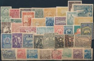 Kis grúz, tadzsikisztáni tétel: 40 klf bélyeg