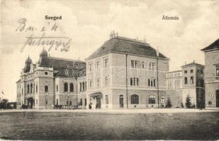 Szeged, vasútállomás