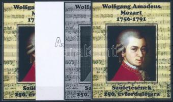 2006/01 Mozart 4 db-os emlékív garnitúra (28.000)