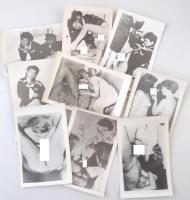cca 1970 19 db amatőr pornó fotó, benne ázsiaiak is / Vintage porn photos 10x14 cm