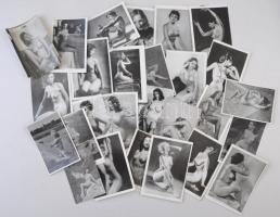 cca 1960 40 db finoman erotikus fotó 7x10 cm
