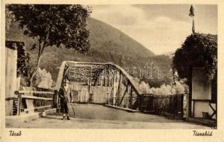Técső, Tacovo; Tiszahíd / bridge (EK)