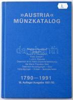 Austria Münzkatalog 1790-1991. 18. Auflage / Ausgabe 1991/92. Használt, de jó állapotú példány.