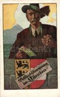1920 Volksabstimmung in Kärnten / Carinthian plebiscite propaganda, coat of arms, voting, Verlag Göth