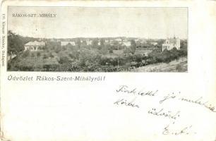 Budapest XVI. Rákosszentmihály, Kiszer Nándor 116. (EK)