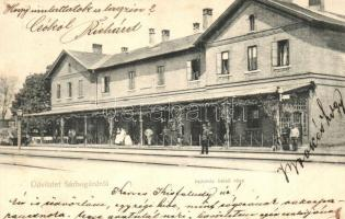 Sárbogárd, Vasútállomás (EK)