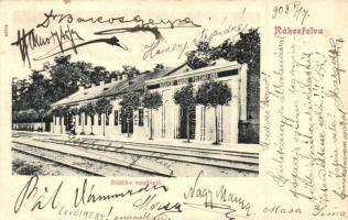 Budapest XIV. Rákosfalva, Zöldike vendéglő, Budapest Rákosi Polgári Kör épülete