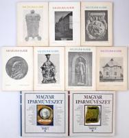 Magyar Iparművészet folyóirat 1997/1. szám és 1997/3. szám + Múzeumi Kurir folyóirat hét száma: 1978. július, 1978. december, 1979. augusztus, 1980. április, 1981. március, 1981. augusztus, 1983. március. Mind használt, de jó állapotban.