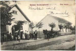 Budapest XVIII. Pestszentimre, Soroksárpéteri; utcakép üzlettel (Rb)