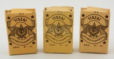 Tiszai Cigarettadohány, Debreceni Dohánygyár, 3 bontatlan csomag