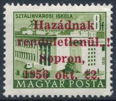 1956 Soproni kiadás Épületek 8f (70.000) garancia nélkül / no guarantee