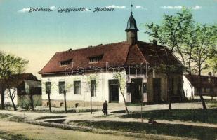 Budakeszi, Gyógyszertár. kiadja Neumann Márton