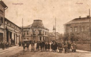 Salgótarján, Fő utca, cukrászda, Özv. dr. Németh Dezsőné kiadása