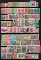 Andorra, Monaco, San Marino 159 db bélyeg berakólapon