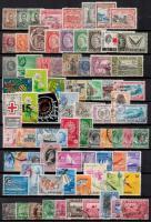 Angol gyarmati országok 164 klf bélyeg berakólapon