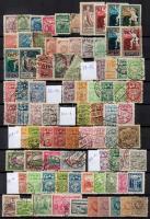 Lettország, Litvánia 180 klf bélyeg berakólapon