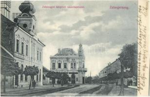 Zalaegerszeg, Zalamegyei központi takarékpénztár