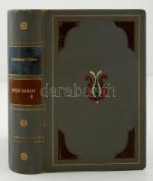 Gárdonyi Géza: Isten rabjai. Bp., 1942, Dante. Harmadik kiadás. Korabeli amatőr bibliofil egészbőrkötésben.