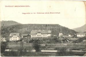 Breznóbánya, Brezno; Hegyvidéki földműves iskola / farmer school (b)