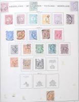 Holland gyűjtemény 1869-1971 Schaubek csavaros albumban