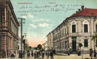 Székesfehérvár, Budai út, kiadja Ullmann Imre (EK)