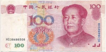 Kína 1999. 100Y T:III fo. China 1999. 100 Yuan C:F spotted Krause 901