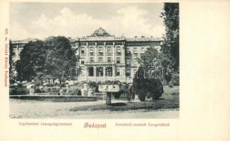 Budapest II. Lipótmezei elmegyógyintézet, 387. sz. Divald Károly (EK)