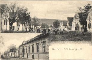 Budapest III. Békásmegyer, Fő utca (vágott / cut)