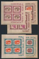 1946 Ifjúsági Szervezetek kisívsor Mi 993-997