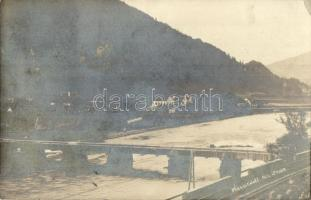 1910 Graz, Weinzödl bridge, photo (EK)