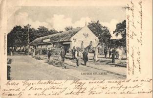 1903 Lovrin, Mezőgazdasági Kiállítás. kiadja Gilsdorf György / exhibition (EK)