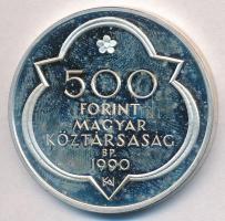 1990. 500Ft Ag Mátyás Király - Buda T:PP ujjlenyomatos Adamo EM114