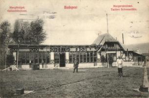 Budapest XIII. Margitsziget, Galamblövészet (fl)