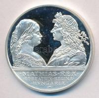 1990. 500Ft Ag Mátyás király / Beatrix T:PP ujjlenyomat Adamo EM113