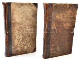 Közhasznu esmeretek tára a Conversations Lexicon szerént Magyarországra alaklmazta. III.-IV. kötet. Pesten, 1832, Wigand Otto. Kissé megviselt félbőr kötésben.