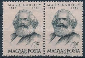 1953 Marx pár keskeny és széles bélyegek