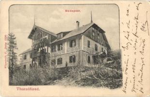Thurzófüred, Kupele Turzo; Budapest villa, kiadja Wlaszlovits G. / hotel (EK)