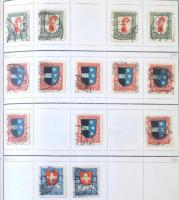 Svájc Pro Juventute többpéldányos készlet 1913-1983 könyvvé fűzött 140 lapos cserefüzetben