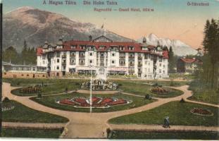 Ótátrafüred, Stary Smokovec, Alt-Schmecks; Nagyszálló / grand hotel (ragasztónyomok / gluemarks )