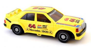 Racing car távirányítós autó, eredeti dobozában, működik, Mercedes 190E műanyag játék autó eredeti dobozában