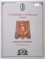 A Szabadságharc Emléktárgyai Aukció - Nudelman Gyűjtemény 1998. március 10-11. Használt, de jó állapotban.