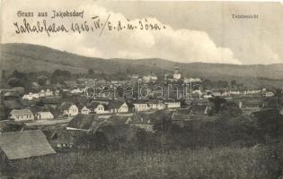 Jakabfalva, Iacobeni, Jakobsdorf; Látkép / general view (EK)