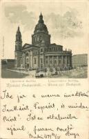 1899 Budapest V. Bazilika, Rigler litho (EK)