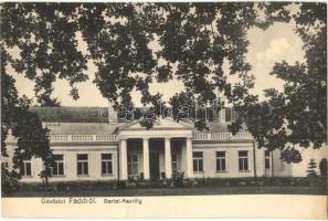 Fadd, Bartal kastély. Hangya kiadása