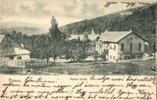 Kassa, Kosice; Bankófürdő, kiadja László Béla / spa