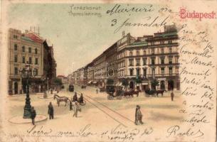 Budapest VI. Teréz körút, litho (fl)