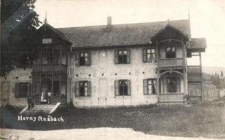 1923 Felsőzúgó, Vysné Ruzbachy; Karolina villa / villa, photo