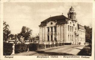 Budapest XIII. Margitsziget, Clubház (EK)