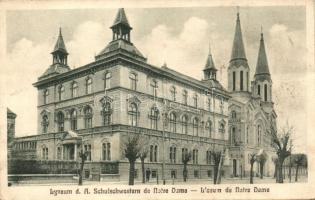 Temesvár, Timisoara; Notre Dame leánynevelő intézet / girl school (EK)